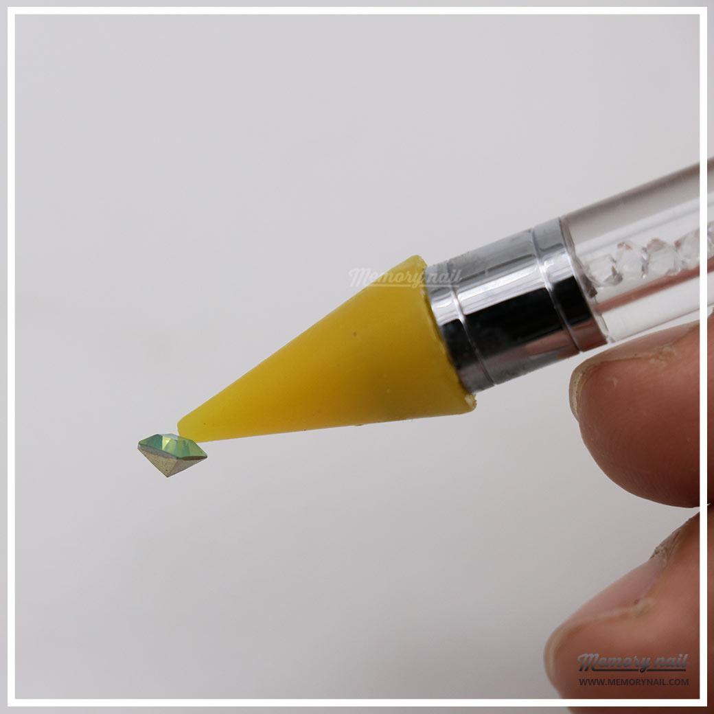 ดินสอดูเพชร,ดินสอติดเพชร,ที่ดูดเพชร,ที่ดูดเพชร แต่งเล็บ