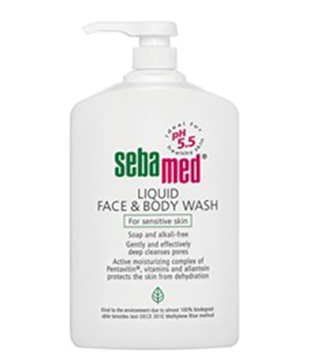 Sebamed Liquid Face & Body Wash 300ml สำเนา