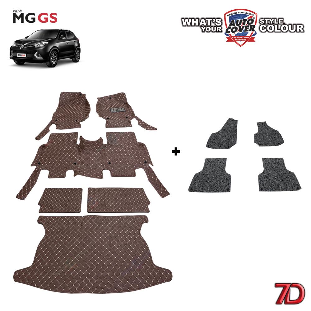 พรมรถยนต์ 7 D Anti Dust รถ MG GS