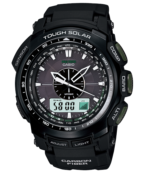 นาฬิกา คาสิโอ Casio PRO TREK ANALOG INDICATOR รุ่น PRG-S510-1