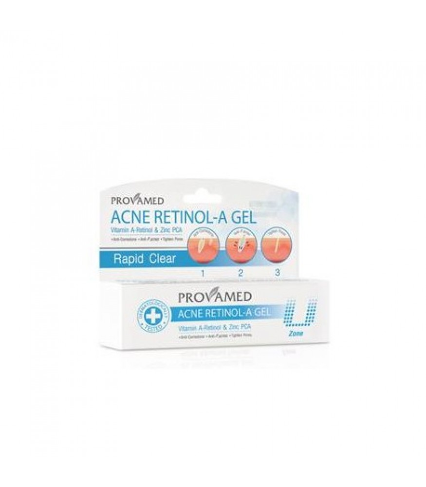 PROVAMED ACNE RETINOL-A GEL 10 ML.