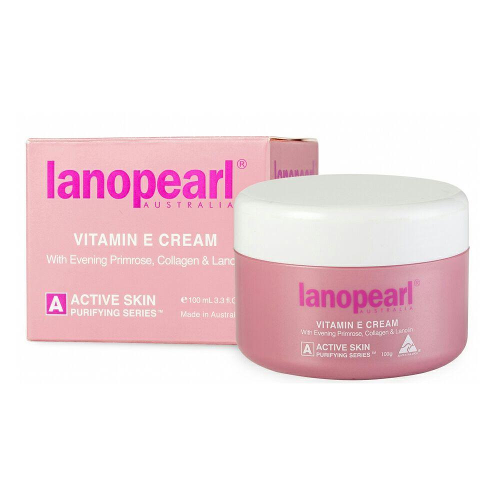Lanopearl Vitamin E & EPO Cream ขนาด 100 ml.
