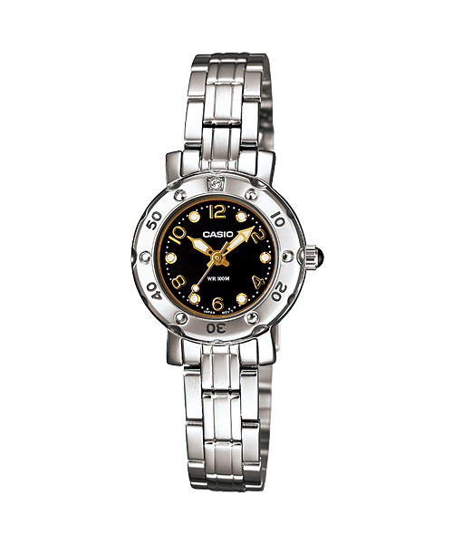 นาฬิกา คาสิโอ Casio STANDARD Analog'women รุ่น LTD-2002D-1AV
