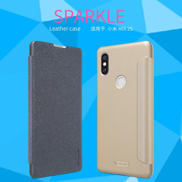 เคสฝาพับ NILLKIN Sparkle Leather Case Xiaomi Mi Mix 2S