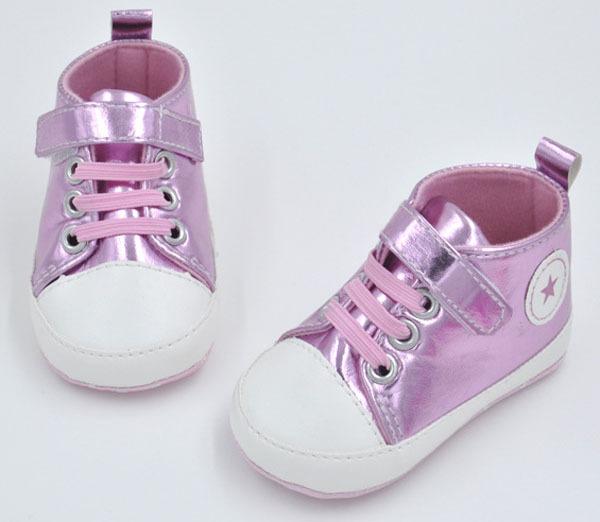 รองเท้าผ้าใบหัดเดิน(ปักรูปดาว 5 แฉก)