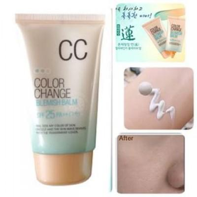 Welcos Color Change Blemish Balm SPF25 PA+++ 50ml.