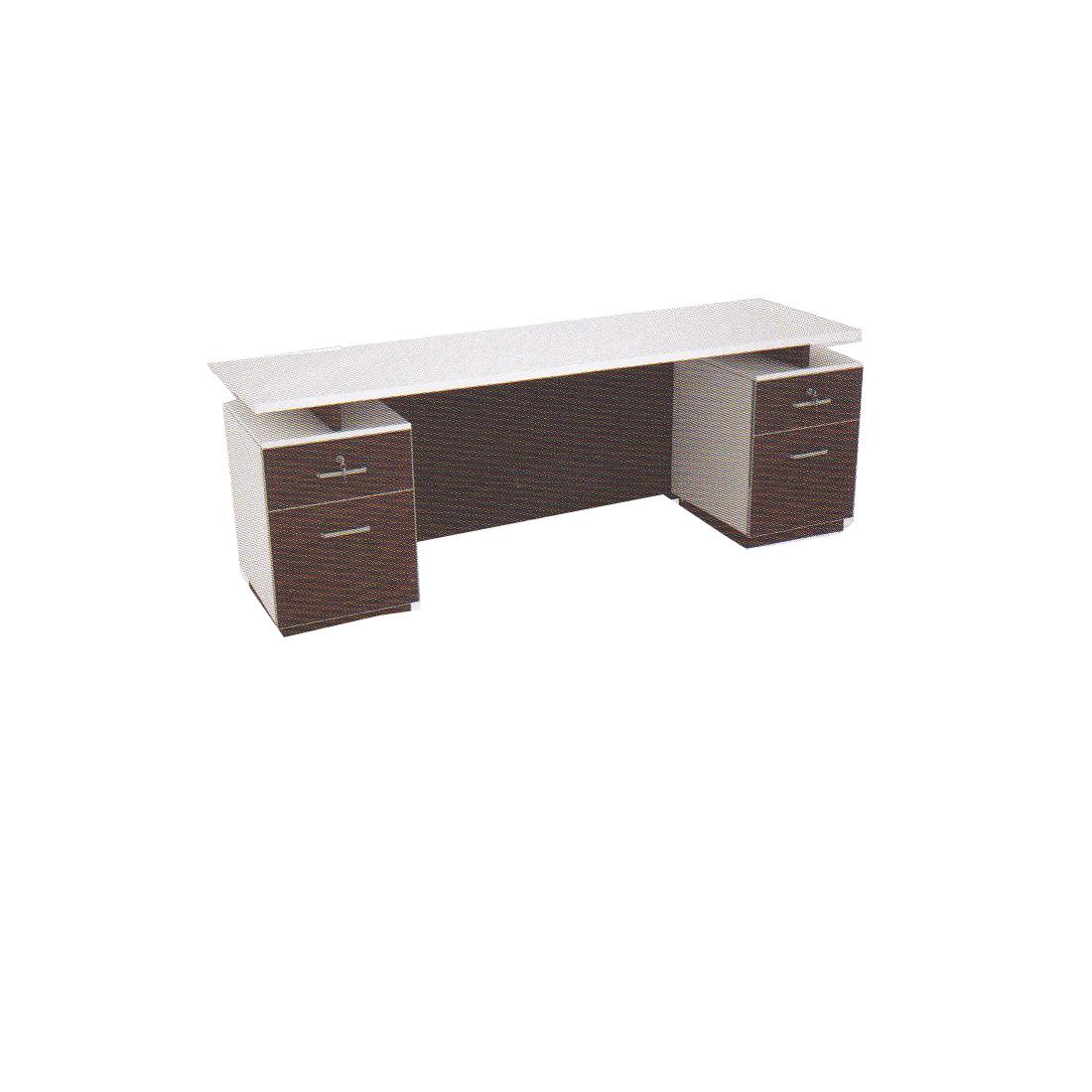 โต๊ะทำงาน 1.80 ม. 2 ลช. ซ้าย-ขวา TDK-P1822