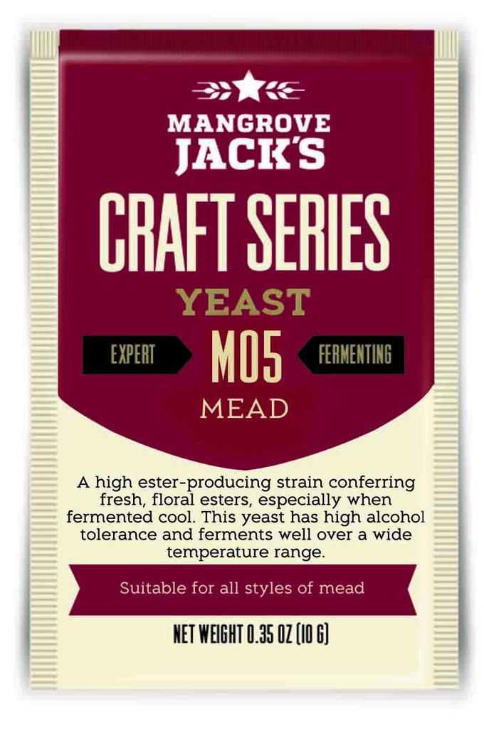 Mead Yeast M05 10g x12 packs