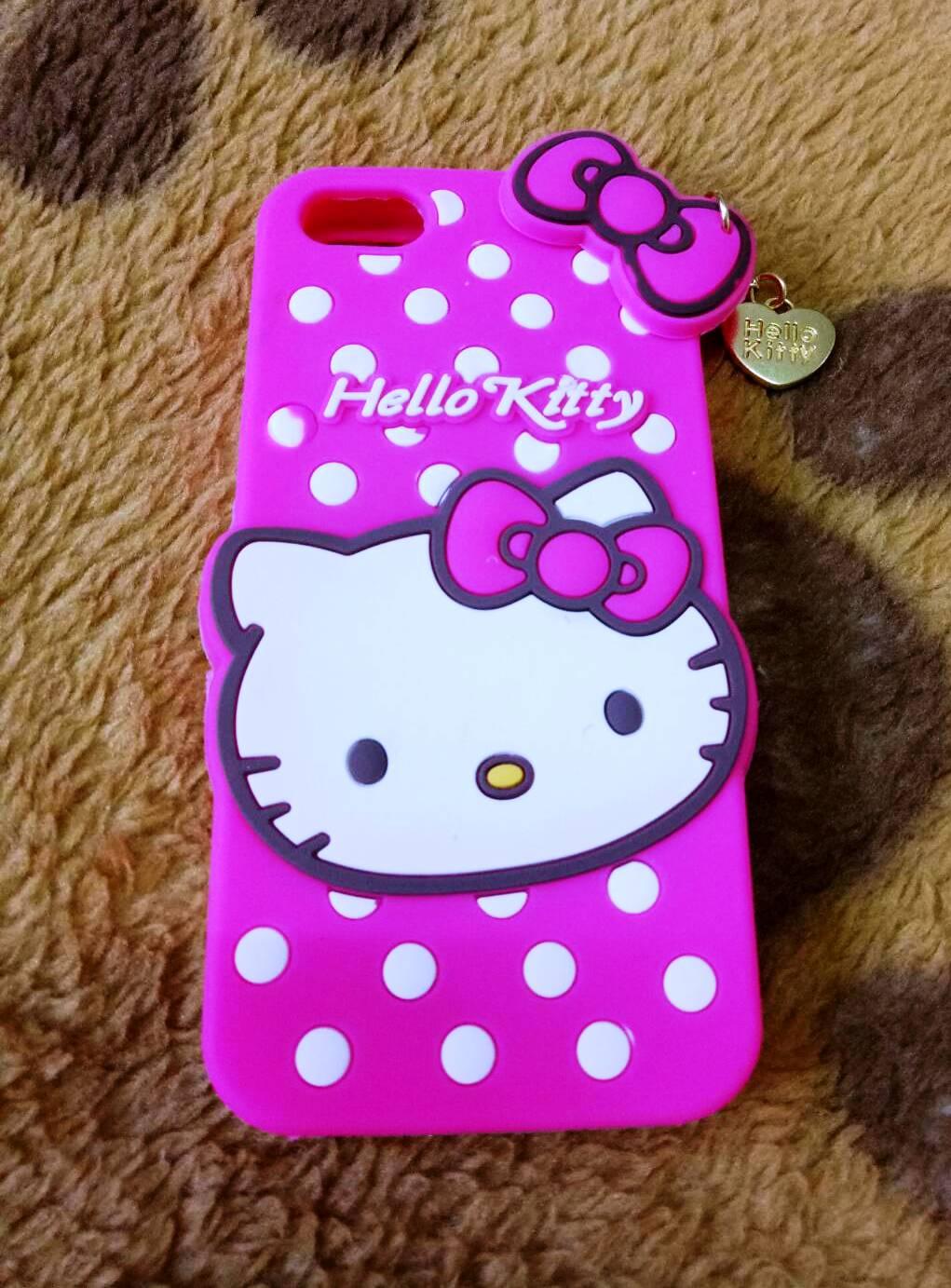 ซิลิโคนแมวชมพู iphone5/5s/se
