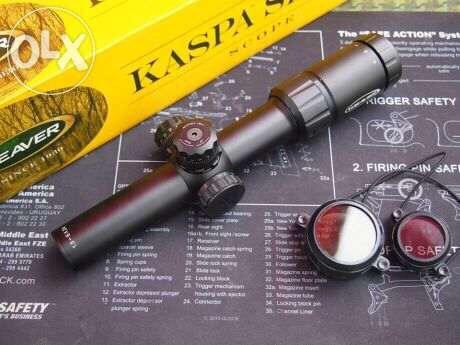 New.สโครปยิงไว ยี่ห้อ Weaver รุ่น Kaspa ซูมขยาย 1.5-6x24 ราคาพิเศษ