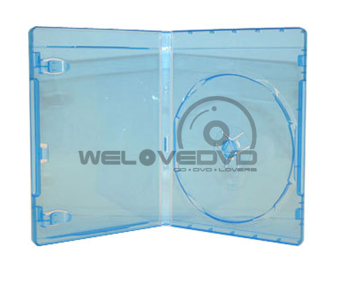 Single Blu-Ray Cases with Blu-ray Logo (10 pcs)