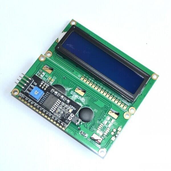 LCD 16X2 I2C ใช้ไฟ 5 VOLT สีฟ้า