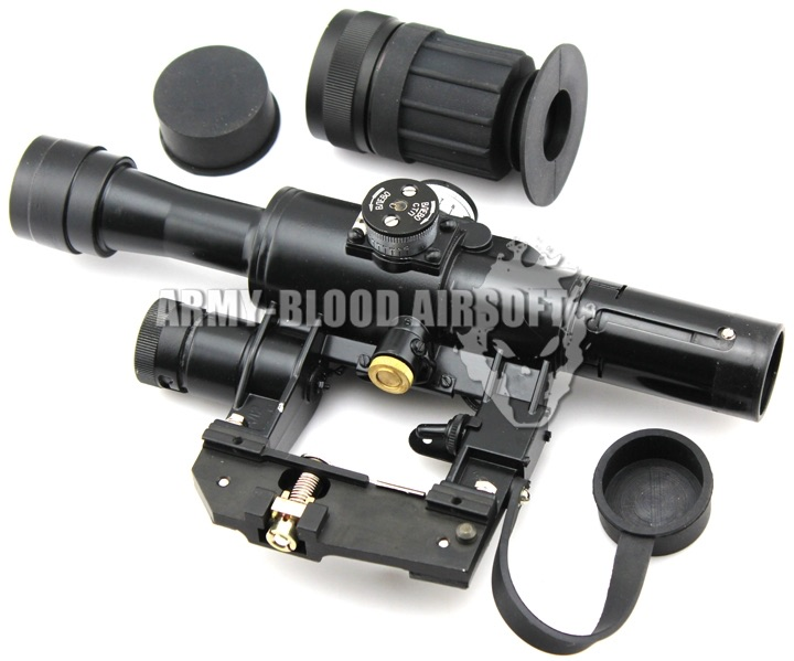 4X24 PSO-1 Scope for SVD/AK Series