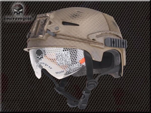 New.EXF BUMP Helmet With Protective Goggle(Navy Seal)