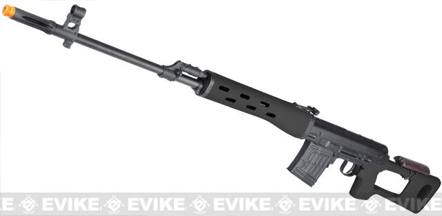 SVD Dragunov สไนเปอร์ชักยิง สีดำ