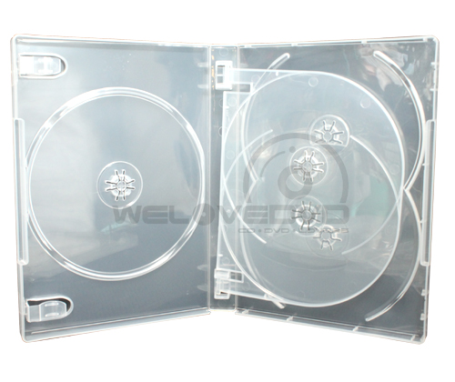 5 Disc DVD Case Clear (10 Boxs)
