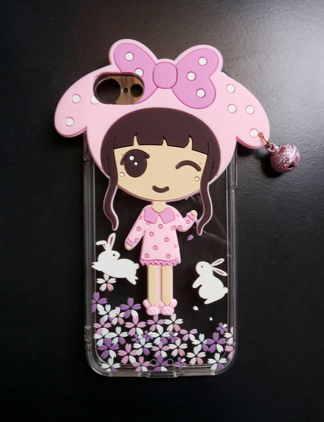 ซิลิโคนเด็กหญิง iphone7/iphone8(ใช้เคสตัวเดียวกัน)