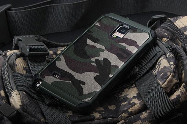 NX Case ลายพรางเขียว Note4