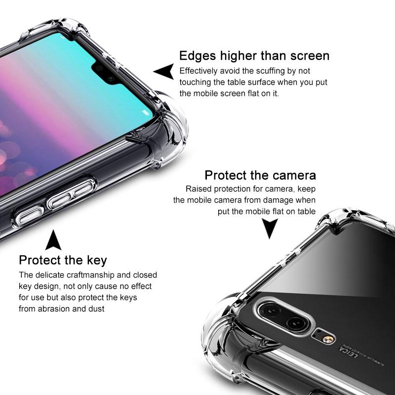 TPUใส กันกระแทก Huawei P20