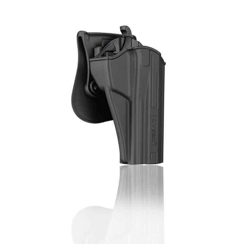 ซองปืน รุ่นT-Thumbsmart Holster จากค่าย Cytac ของปืน B92 ปืนรุ่นที่ใส่ได้ Beretta92,Beretta92FS,GSG92,Girsan Regard MC ใน1ชุด มาพร้อมซองปืนที่สามารถปลดไวออกจากเพลตได้ และ ซองแม็คกระซีนเดี่ยว1ชุด