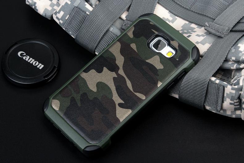 NX Case ลายพรางเขียว A7(2016)