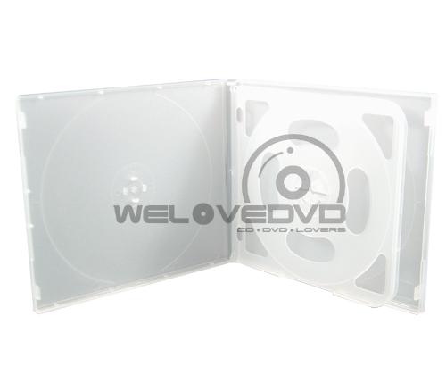 4 Disc VCD Case White (10 pcs)