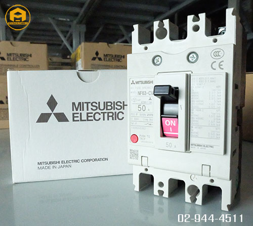 Breaker Mitsubishi Model : NF63-CV