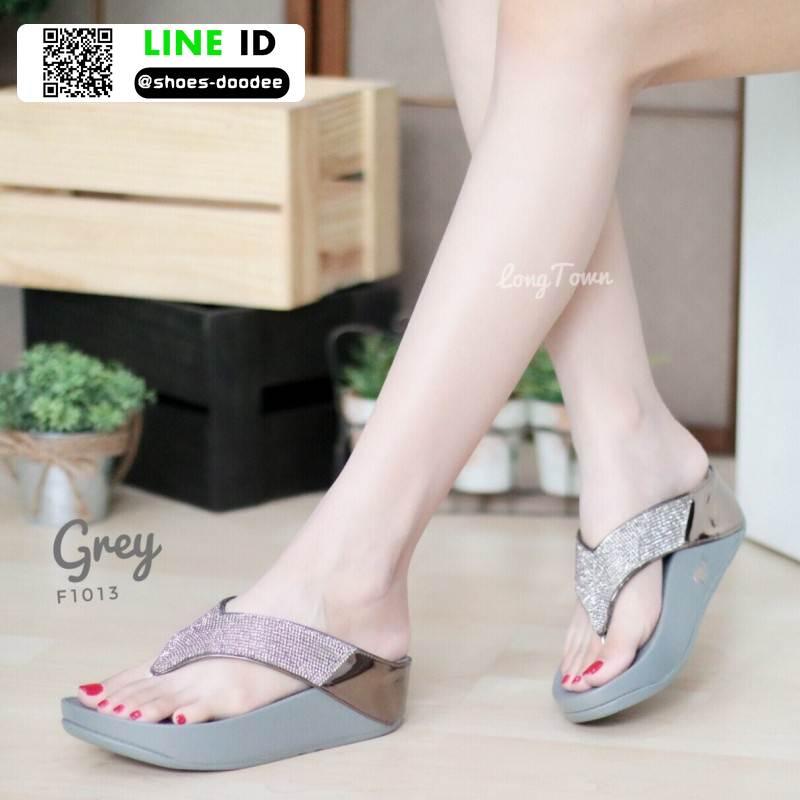 รองเท้าแตะเพื่อสุขภาพ ฟิทฟลอปหนีบ F1013-GRY [สีเทา]