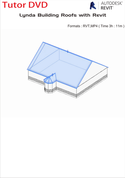 Lynda Building Roofs with Revit 3 11hRVT,MP4