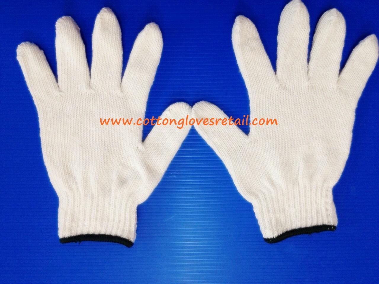 ถุงมือผ้าฝ้ายขนาด 500 กรัม จำนวน 10 โหล