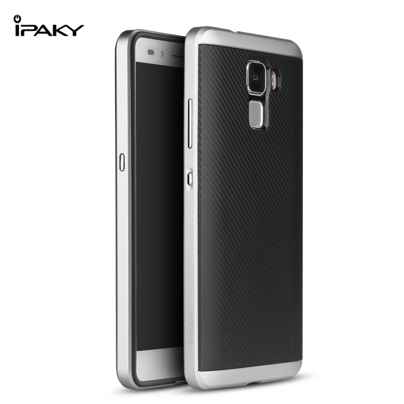 IPAKY CASE for Huawei honor 7 (Silver)