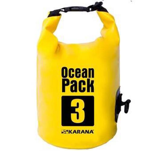 กระเป๋ากันน้ำ Ocean Pack 3L-สีเหลือง