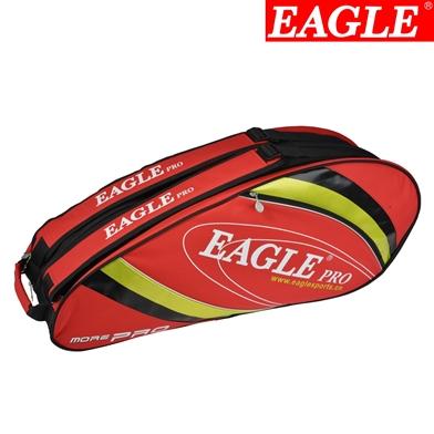 กระเป๋า Eagle ใบกลางสีแดงลายเขียว