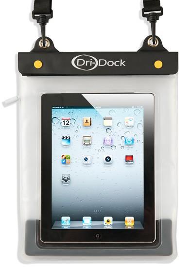 iPad/Tablet Waterproof Pouch - สีขาว