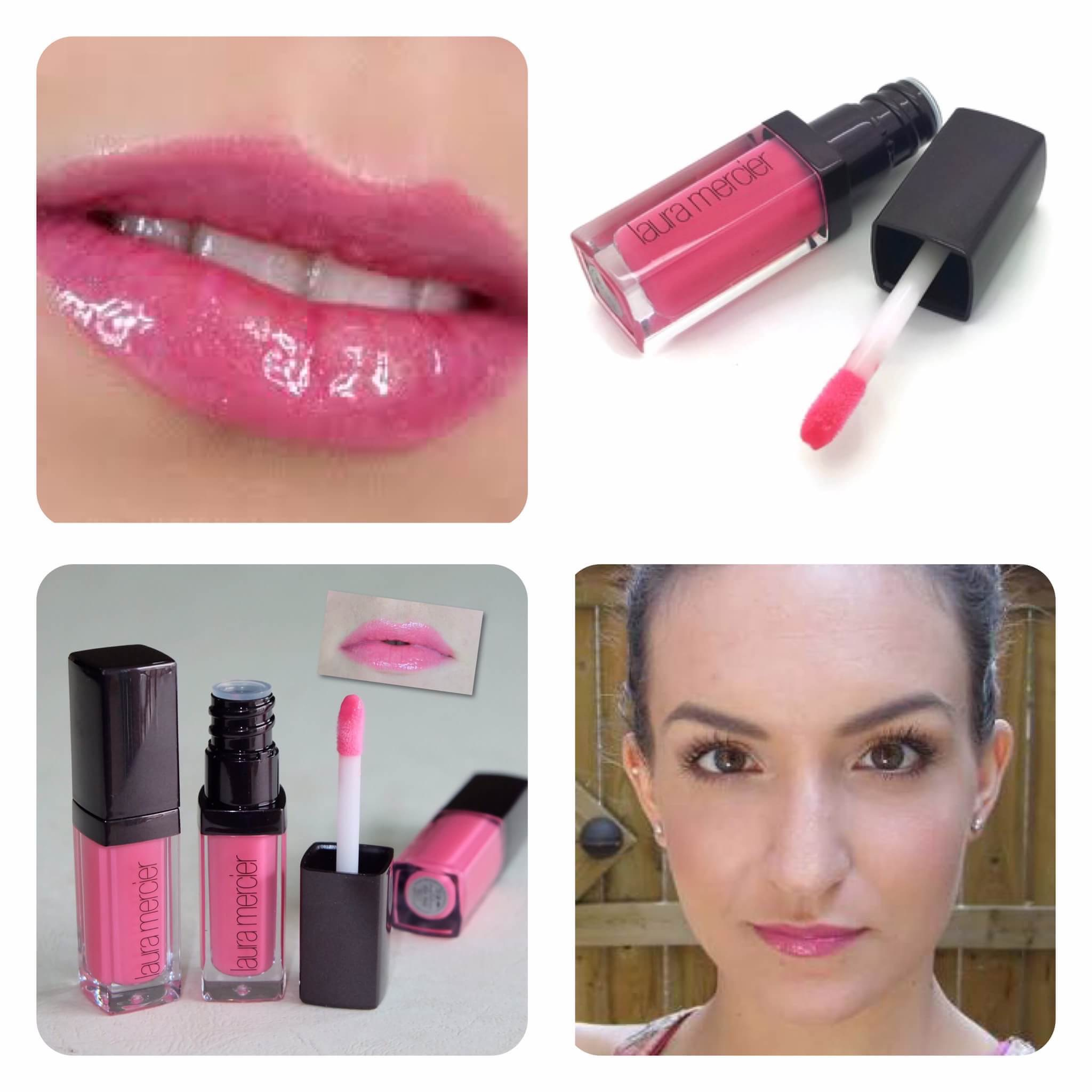 ผลการค้นหารูปภาพสำหรับ Laura Mercier Lip Glace 2.8g. #Pink Pop