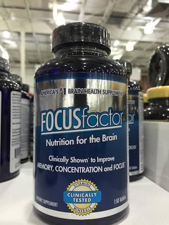 Focuc Factor วิตามินบำรุงสมอง ขายดีอันดับหนึ่งในอเมริกา