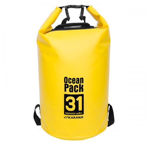 กระเป๋ากันน้ำ Ocean Pack 31L-สีเหลือง