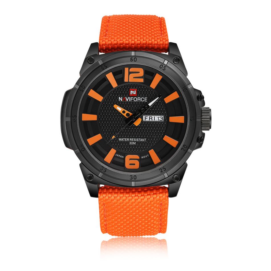 นาฬิกา Naviforce รุ่น NF9066M Orange นาฬิกาข้อมือสุภาพบุรุษ ของแท้ รับประกันศูนย์ 1 ปี ส่งพร้อมกล่อง และใบรับประกันศูนย์ ราคาถูกที่สุด