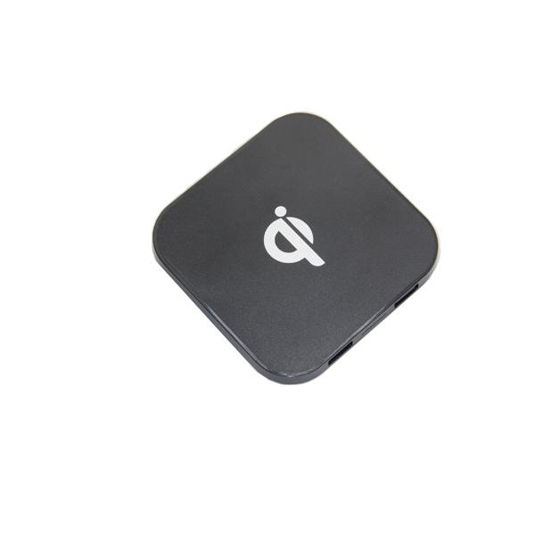 Qi แท่นชาร์จ wireless charger Qi sandard 3 in 1/ Black