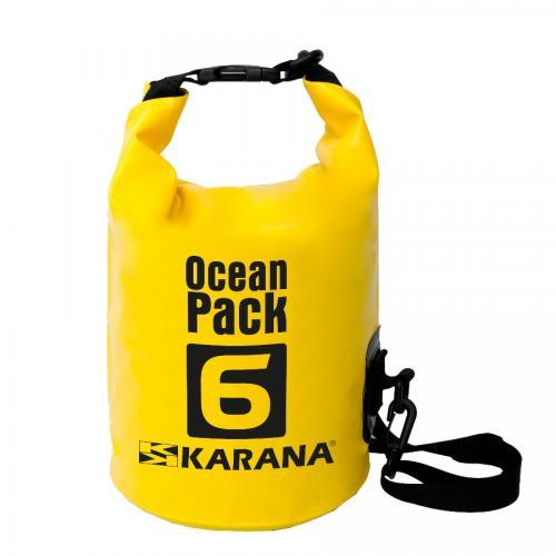 กระเป๋ากันน้ำ Ocean Pack 6L-สีเหลือง