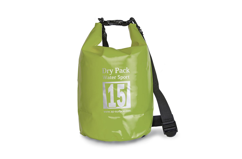 กระเป๋ากันน้ำ Dry pack 15L-สีเขียวทหาร