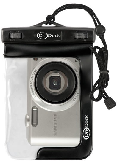 Camera Pro Waterproof Pouch - สีดำ
