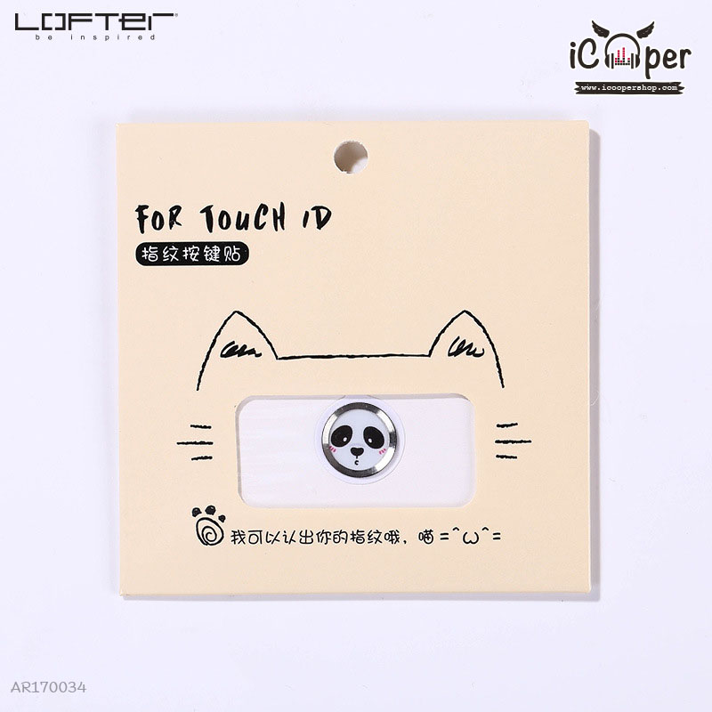 LOFTER Cartoon For Touch ID - Panda