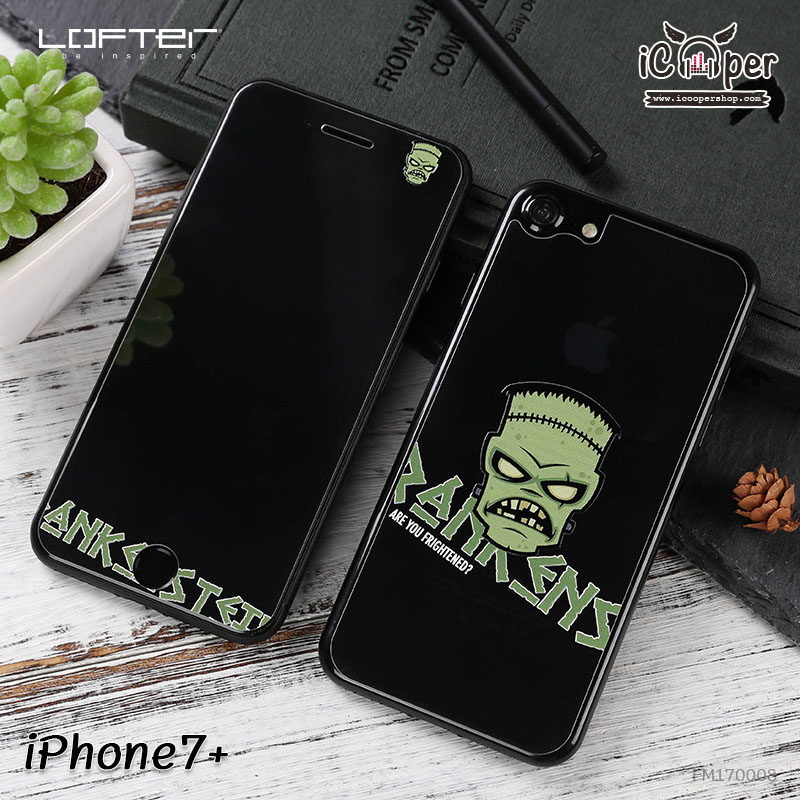 LOFTER Full Cover Glass - Frankenstein (iPhone7+)