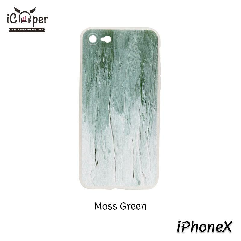 MAOXIN Graffiti Case - Moss Green (iPhoneX)