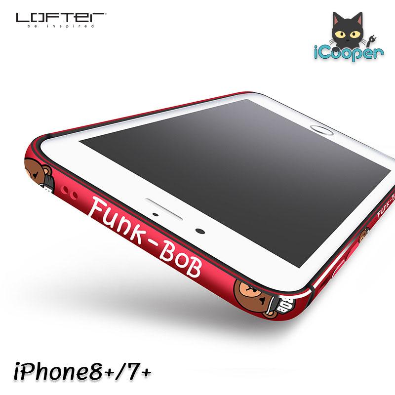 LOFTER Aluminium Bumper - Funk BOB Red (iPhone8+/7+)