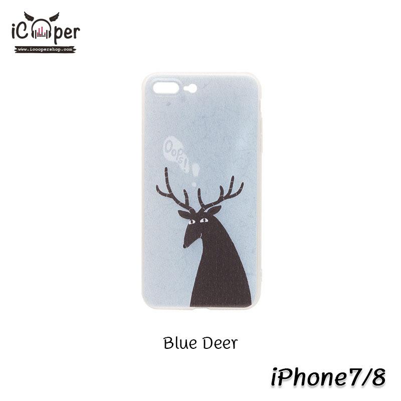 MAOXIN Island Case - Blue Deer (iPhone7/8)