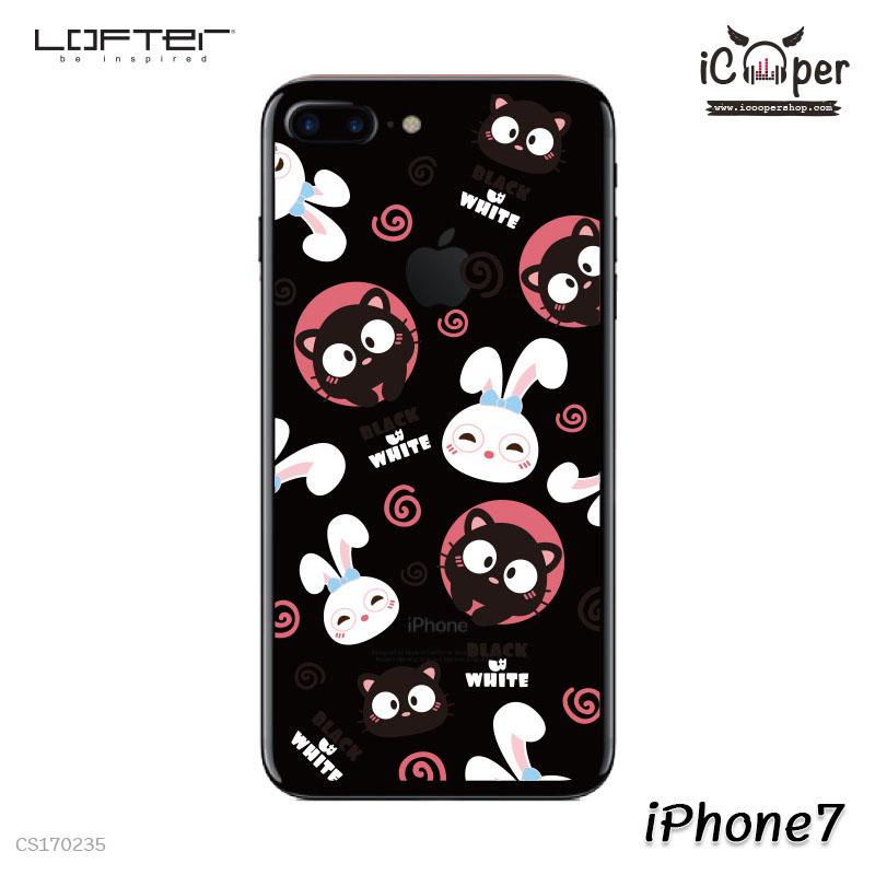 LOFTER Pets TP Case - Cat & Rabbit (iPhone7)