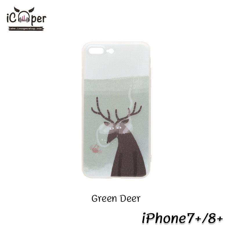 MAOXIN Island Case - Green Deer (iPhone7+/8+)
