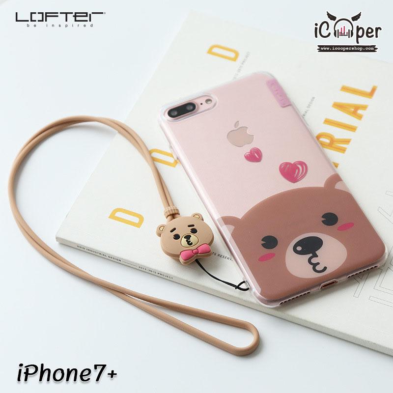 LOFTER Cartoon Cute - Bear (iPhone7+)